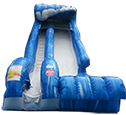 20′ Wild Wave – Water slide with pool