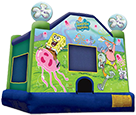 Sponge bob Square pants Bounce House 15×15